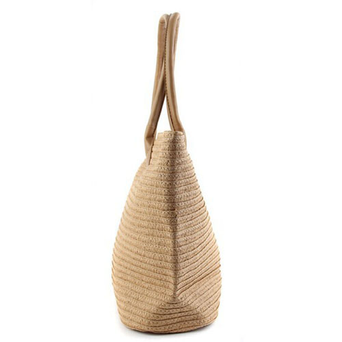 Woven One Shoulder Casual Beach Bags Image 2