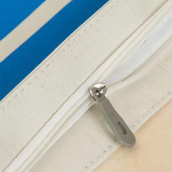 Striped Patchwork Beach Bag