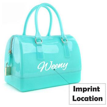 Women Jelly Crystal Beach Bags