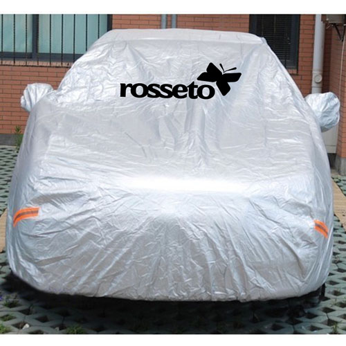 Silver Car Universal Four Seasons Car Cover Image 1