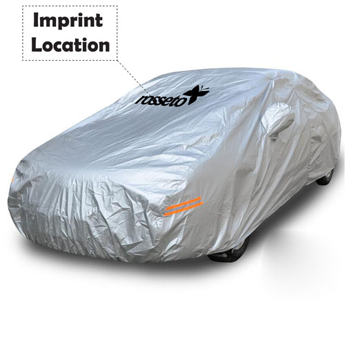 Silver Car Universal Four Seasons Car Cover Imprint Image