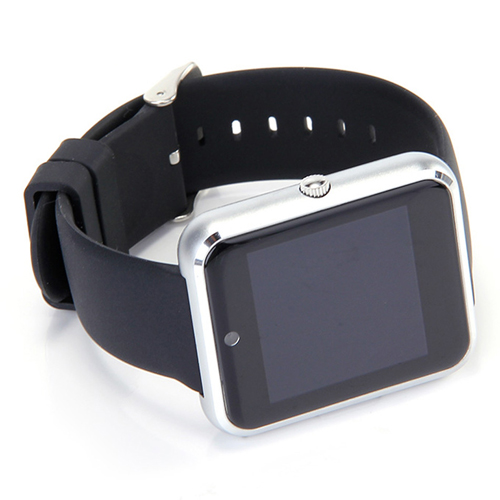 LCD Touch Screen Bluetooth Smart V1 Watch Image 1