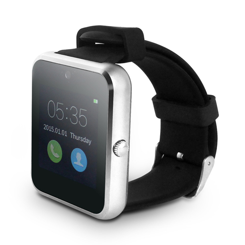 LCD Touch Screen Bluetooth Smart V1 Watch Image 2