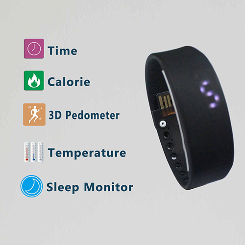 LED Digital USB Sports Wrist Watch Image 1