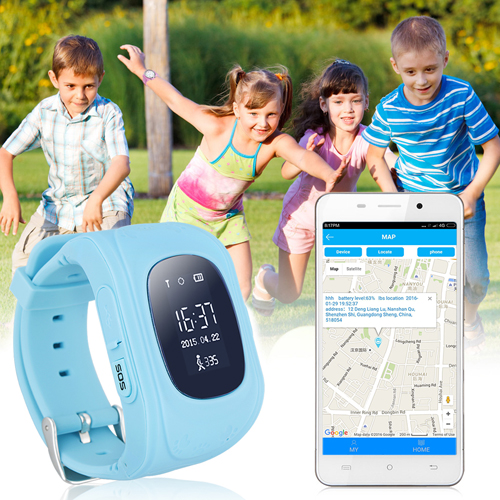 Children Tracker Anti-Lost Smart Watch Image 2