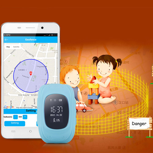 Children Tracker Anti-Lost Smart Watch Image 3