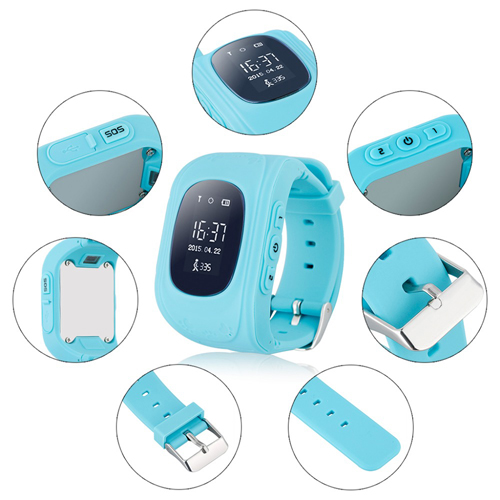 Children Tracker Anti-Lost Smart Watch Image 5